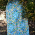 OUTDOOR MOSAIC SQUARE  TABLECLOTH