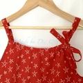 Christmas DRESS - RED STARS : Toddler Girls 4