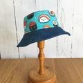 Toddler bucket hat - Happy Sushi - 1 yr