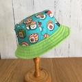 Toddler bucket hat - Happy Sushi - 2 yrs