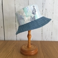 Sun Hat - Cool Blues - 4-7 yrs