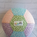 Balloon Ball: Pastel flowers