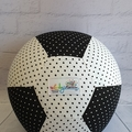 Balloon Ball: Black & White spots.