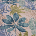 OUTDOOR FERN & LEAVES  SQUARE  TABLECLOTH