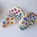 Set of 3 Ceramic Fish forms - Fish Family