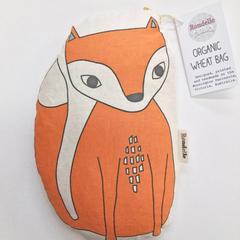 Organic Wheat Bag - Mr Foxy