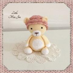 Crocheted Amigurumi Lion
