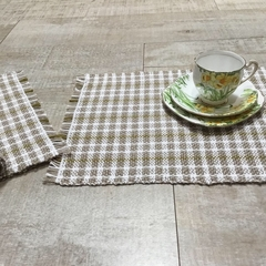 Handwoven tablemats