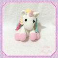Crocheted Amigurumi Unicorn