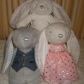 Personalised Plush Toy Rabbit.