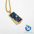 Galaxy Cat Necklace