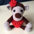 Michelle the Monkey Soft Toy Amigurumi