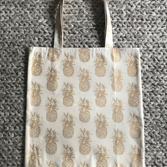 Gold pineapples bag