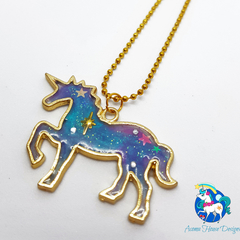 Galaxy Unicorn Necklace