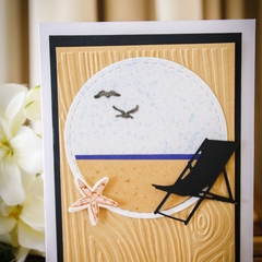 Beachy card