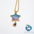 Galaxy Star Key Necklace