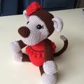 Michelle the Monkey Soft Toy Amigurumi