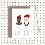 Hipster Santa