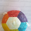 Balloon Ball: Unique Rainbow Batik Taggie.