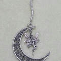 FAIRY MOON ~ Crystal Sun Catcher