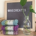 Knitted dishcloth - sustainable option