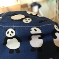 Extra small size- SECONDS-Boys summer hat in panda fabric