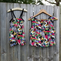 Galvins Road Print in either a Cabarita Ladies Tank or Fraser infant Overalls.