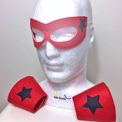 ~ Superhero Mask & Cuff Set ~ READY TO POST ~