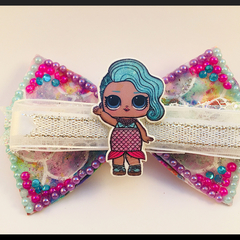 LOL Surprise doll, Splash Queen, Hair Bow Clip.
