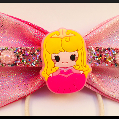 Disney Sleeping Beauty, Hair Bow comes as a beautiful hair tie elastic