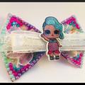 LOL Surprise doll, Splash Queen, Hair Bow Clip.