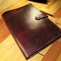 Personalized Leather Journal Large Embossed Diary. Book Cover fits A4 Size ( 9 x