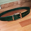 "Leather Belt Custom Handmade to your size 22"" to  48''"