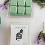 Lemongrass & Sage Soy Wax Melt - Hand poured, Maximum Fragrance
