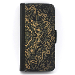 Mandala Wallet Phone Case - for iPhone & Samsung Galaxy phones