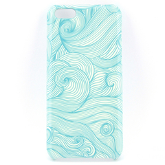 Blue Swirls Design Phone Case - for iPhone & Samsung Galaxy phones