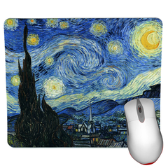 Starry Night Mouse Pad - Van Gogh Mouse Pad