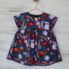 Cotton summer dress, girls dresses,