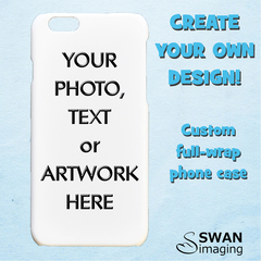Custom iPhone Case - for iPhone XS, X, XR, XS Max, 8, 8 Plus, 7, 7 Plus, 6/6S