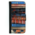 Vintage Book Stack Wallet Phone Case - for iPhone & Samsung Galaxy phones