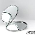 Custom Oval Compact Mirror - Oval Compact Purse Mirror