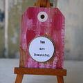 2 Original Hand painted Cards You are Beautiful and You Got This! Cards