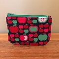 Coin purse - retro apples