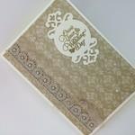 Wedding Card - Elegant Vintage Style