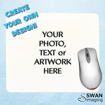 Custom Personalised Mouse Pad - Tech gift