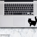 LAPTOP DECAL - Fluffy Cat - Long Hair Cat