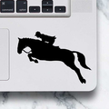 LAPTOP DECAL - Dressage Horse