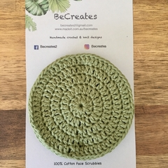 Face Scrubbies-reusable & washable - Sage