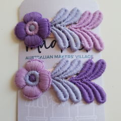 Lilac Love Clips