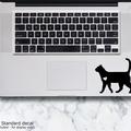 LAPTOP DECAL - Cat Walking - Shorthair Cat Vinyl Decal